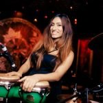FEMALE PERCUSSION , FEMALE DRUMMER, GIRL DRUMMER, HIGHONHEELSBAND, ALL FEMALE MUSIC COLLECTIVE, DJ LIVE, LONDON PARTY BAND
