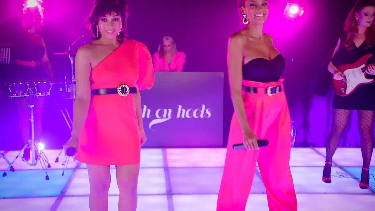 High on Heels – 80's Music Medley – Girls on film'