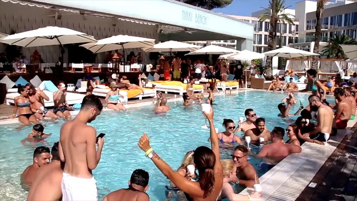 High on Heels - Sunday Brunch @ Nikki Beach, Ibiza